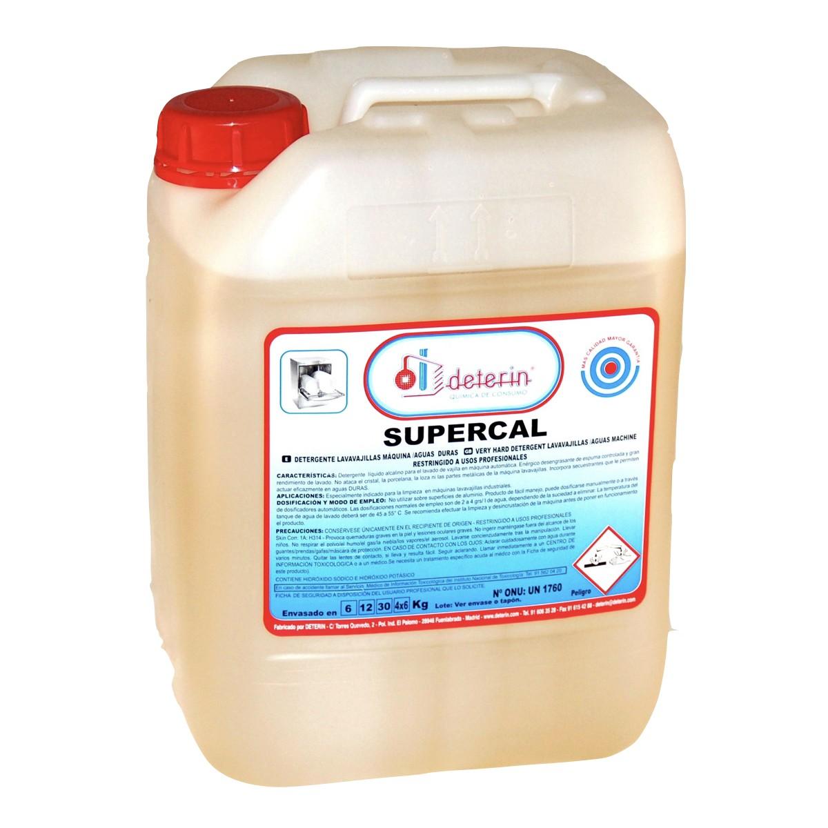 Supercal Deter N ~ Dosificador De Detergente Para Lavadoras